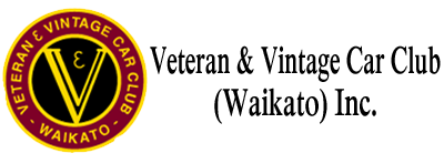 Waikato Vintage and Vetran Car Club
